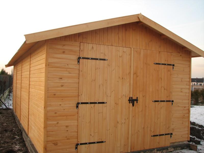 Garaż Drewniany Pomieszczenie Gospodarcze Gt 25 Domki Drewniane